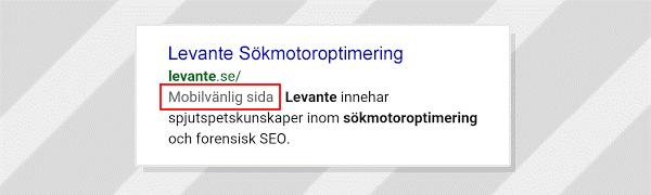 Levante i Google